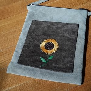 Hand-Embroidered Purse